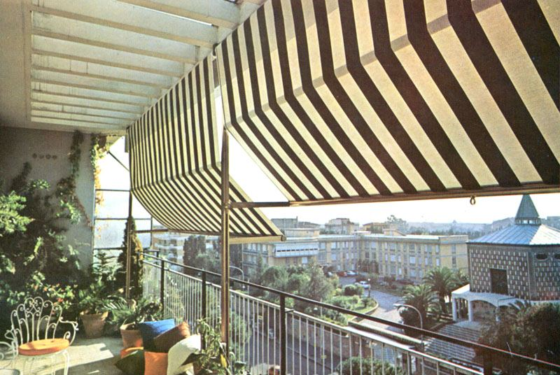 Tende Da Balcone Roma : Tende per terrazzo roma fabbrica tende da sole roma prezzi lusso